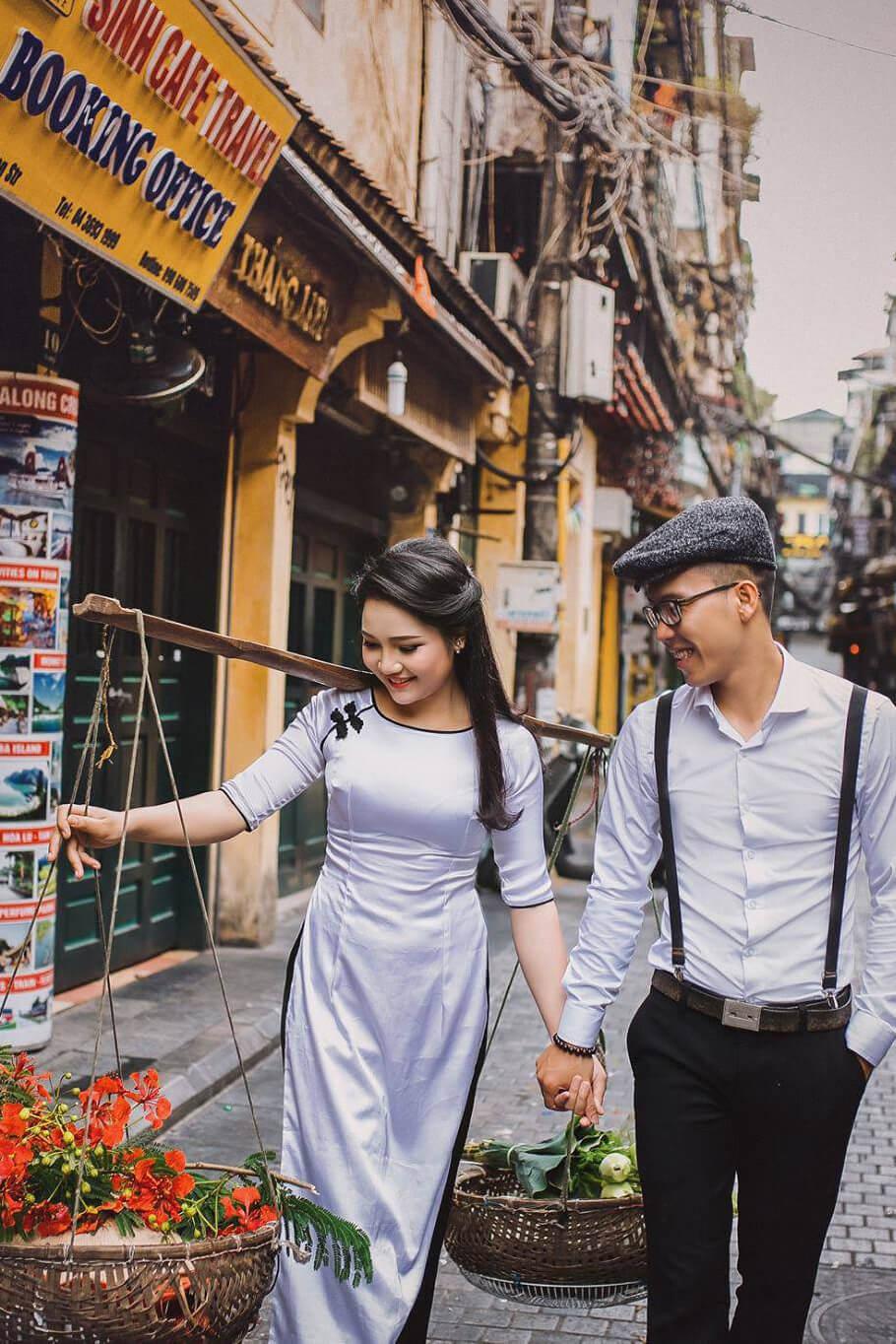 Ảnh cưới phố cổ Hà Nội