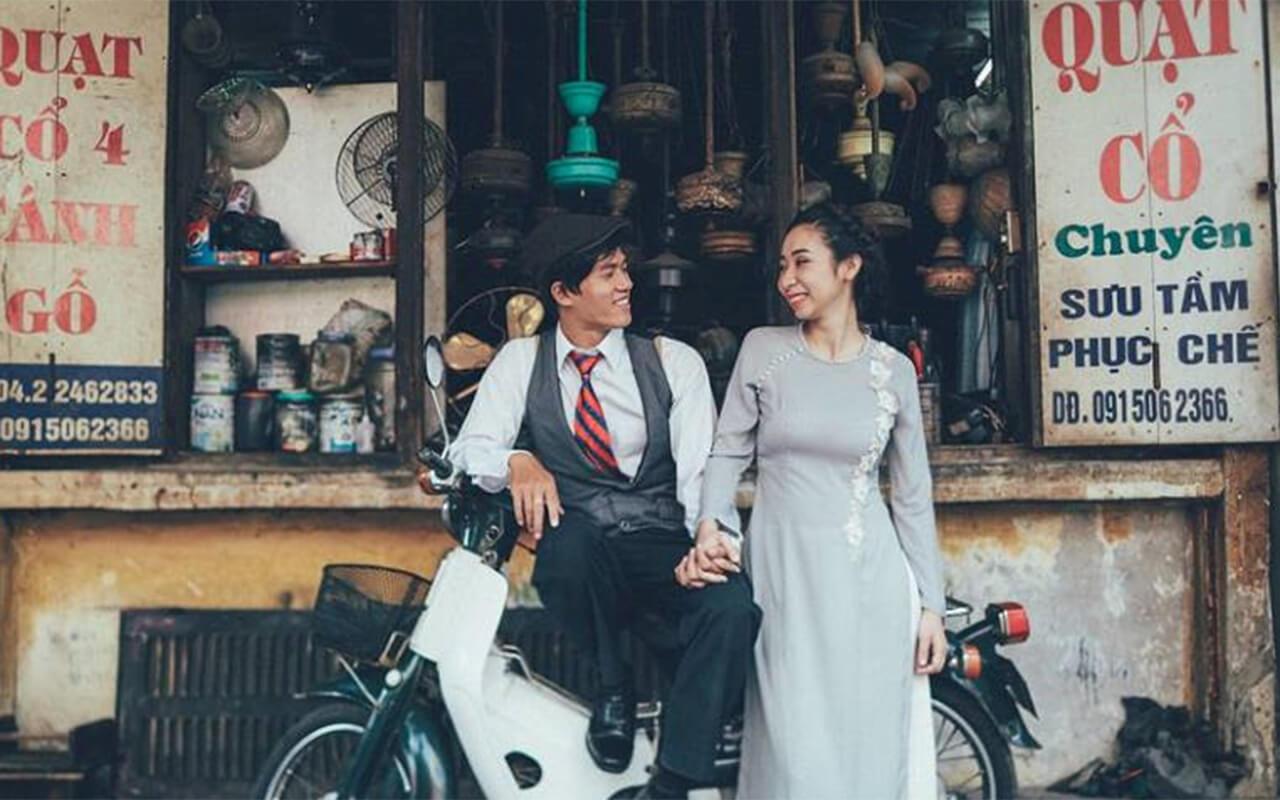 Phố cổ Hà Nội vintage