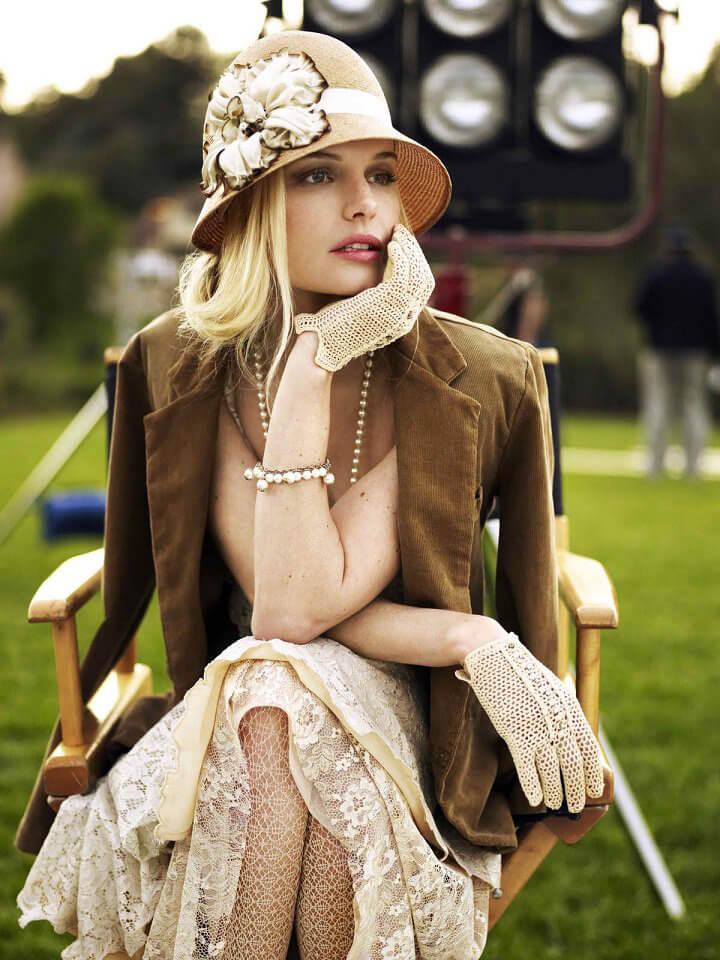 phong cách retro trong thời trang