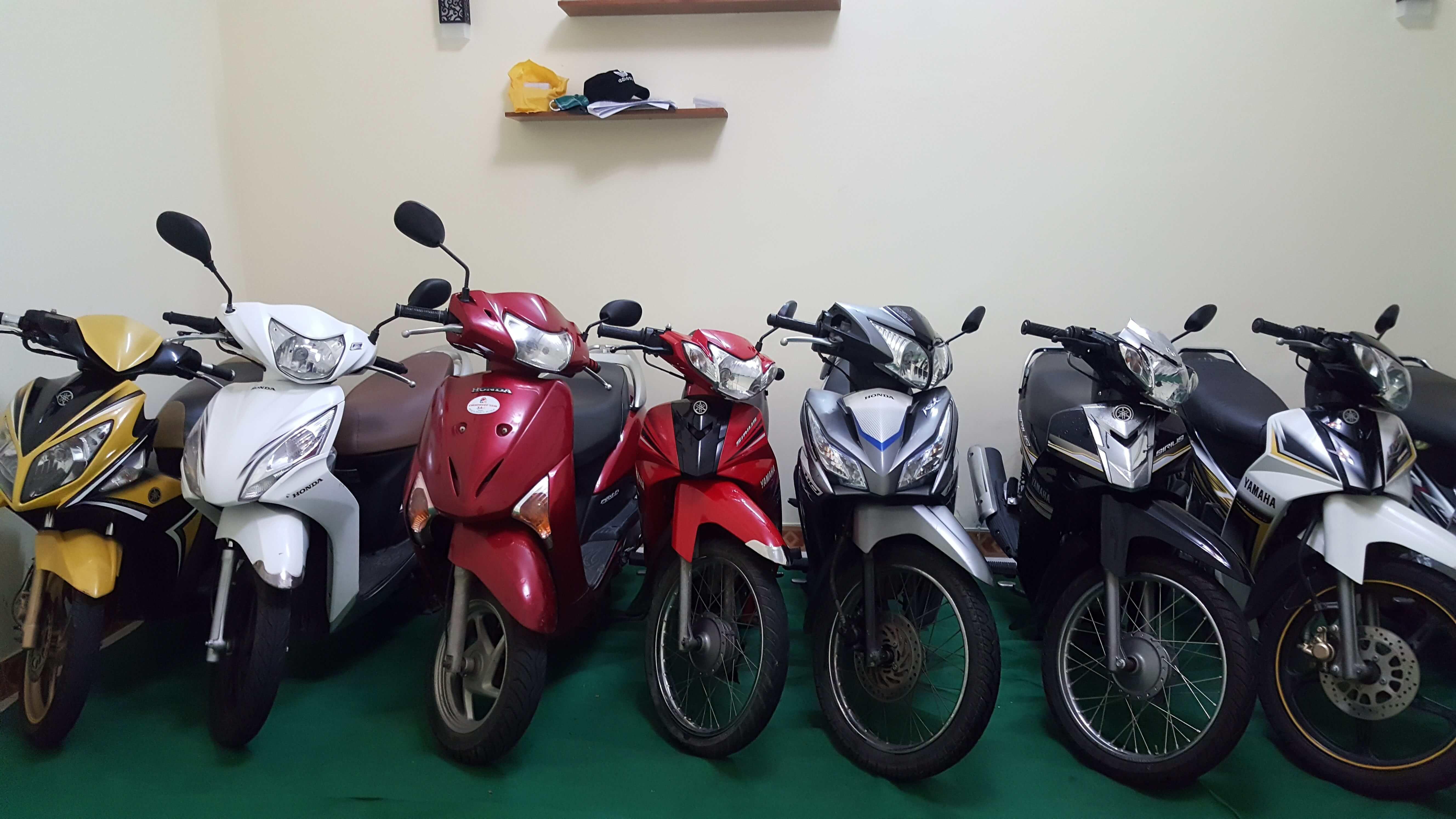 thuê xe máy giá rẻ tại đà nẵng